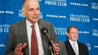 Ralph Nader & Grover Norquist speak at the National Press Club - Sept. 4, 2014