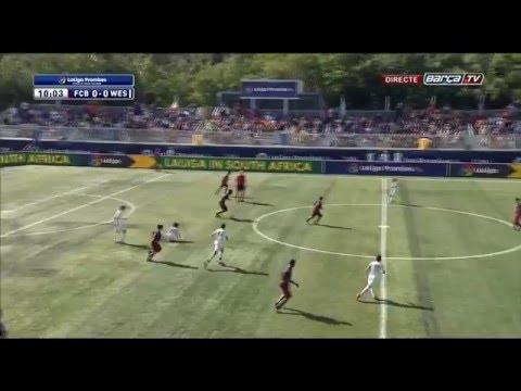 [ESP] LaLiga Promises(U-12): FC BARCELONA - WESTON FC (3-0)