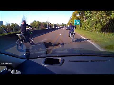 Dash Cam Creil Saint-Maximum Oise rodéo à moto