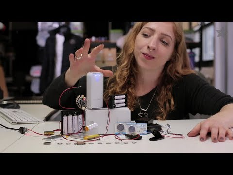 Battery Powering Your Wearable Electronics