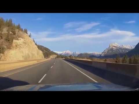 Banff Alberta Mountain Drive -  ASMR
