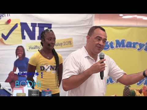 Christopher Tufton - Minister of Health on the Healthy Living Workshop Tour