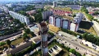 Аеровідеозйомка, Рівне, вул. Струтинської / Rivne, Aerial video / Аэровидеосъемка, Ровно