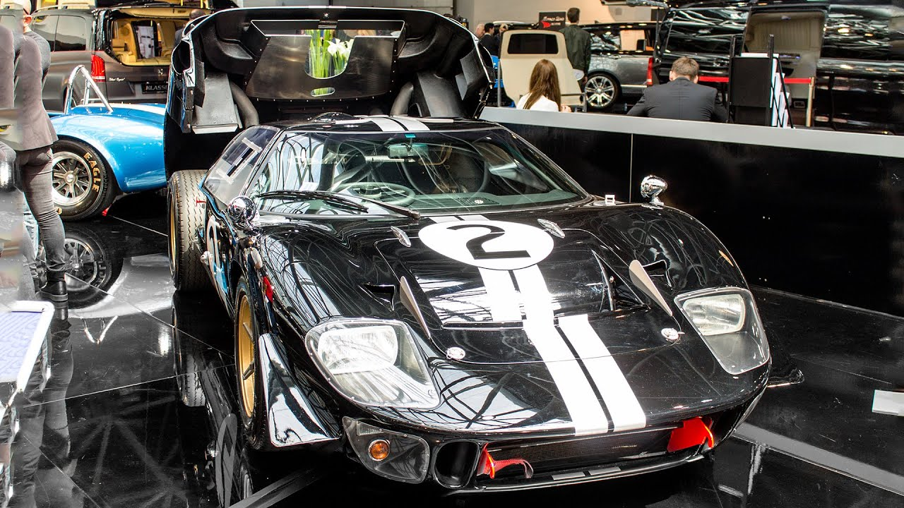 Carrol Shelby S Ford Gt Mkii Limited Edition Top Marques Monaco  Hq