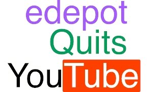Gambar cover edepot Quits YouTube (April Fools)