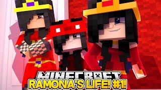 Ramona's Life #1-LITTLE CARLY MEETS BABY RAMONA AND HER FAMILY!! (Minecraft Roleplay)