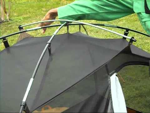 & Ten Minute Tent: Slumberjack Trail Tent 2 Backpacking PItch - YouTube