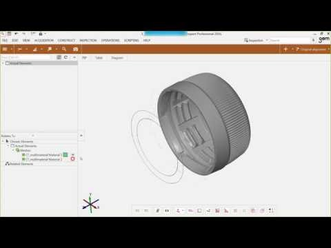 Webinar - GOM Software 2016 - What's New with 3D Metrology