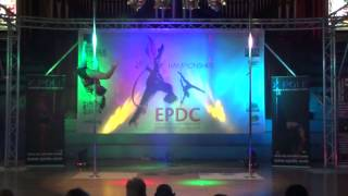 Den Smith - WINNER Advanced Pole - Emma's Pole Dancing Championship 2014