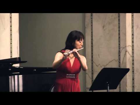 Nocturne (Lili Boulanger) - Hideko Amano, flute & Tatyana Stepanova, piano