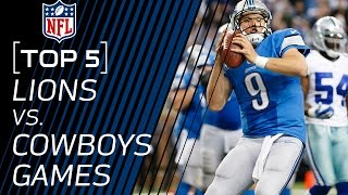 Top 5 Lions vs. Cowboys Games of All Time | NFL NOW