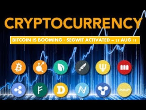 Bitcoin is BOOMING, and some GREAT altcoins 25 aug 2017