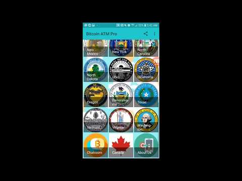 Bitcoin ATM Locator & Chatroom Pro (US & Canada Version For Android) Free App