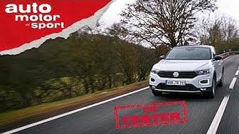 VW T-Roc 2.0 TSI: Hat VW am falschen Ende gespart? - Die Tester | auto motor und sport