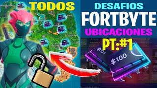 LOCATION OF ALL FORTBYTE IN FORTNITE! HOW TO UNLOCK THE UNIQUEITY OF THE HIDDEN SKIN (PART 1