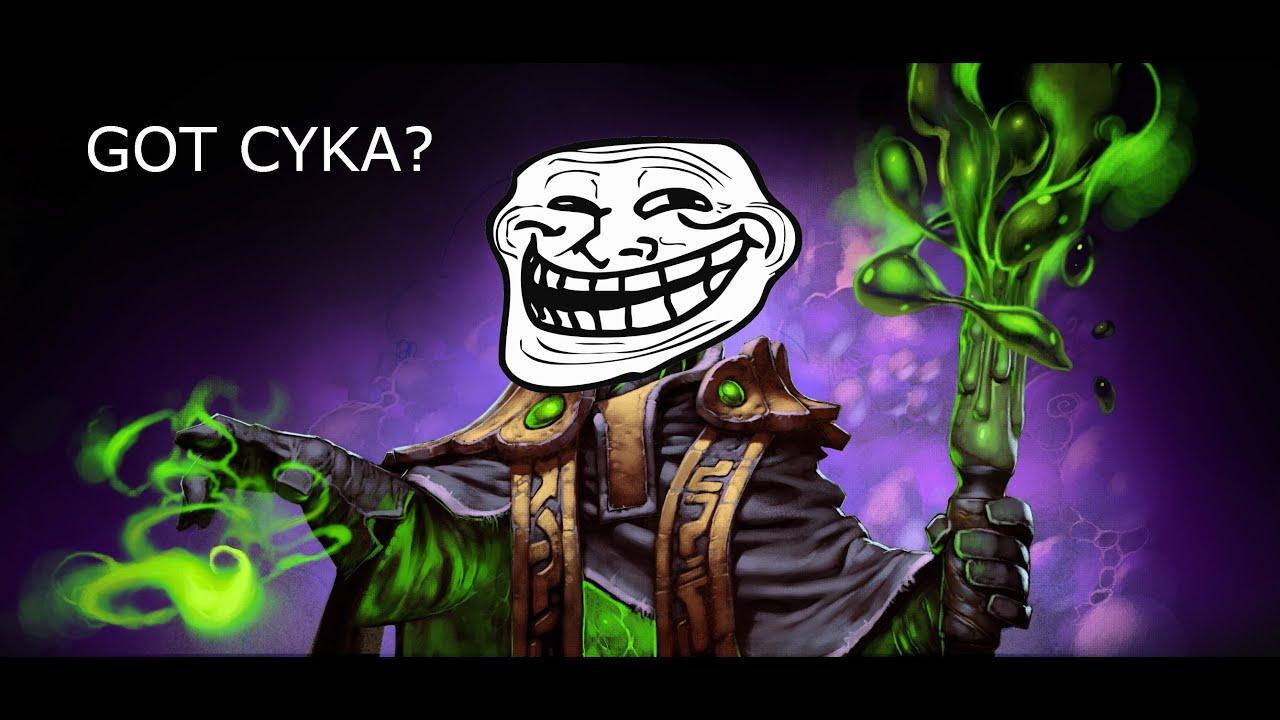 Dota 2 Troll Meet The Russians Got Cyka Epic Gaming YouTube