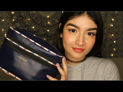 ASMR What's In My Makeup Bag (Whispered)