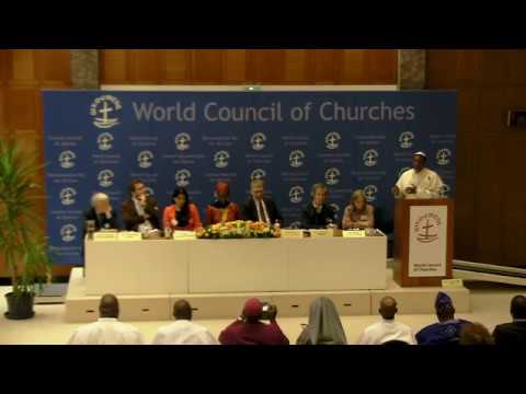 Live from the World Council of Churches: Christianity and human rights in multi-faith Nigeria