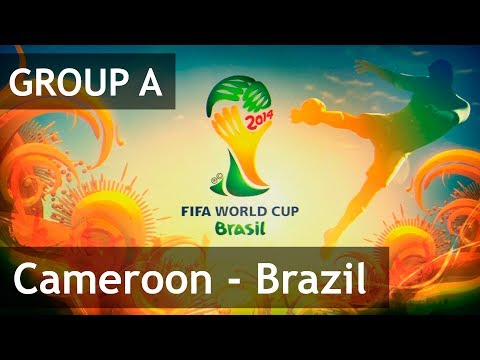 #33 Cameroon - Brazil (Group A) 2014 FIFA World Cup