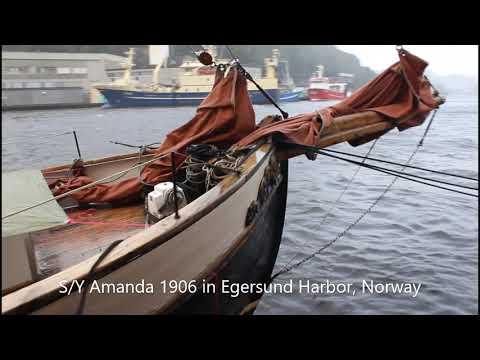 Classic Yacht Amanda 1906 15. September 2019 In Egersund, Norway
