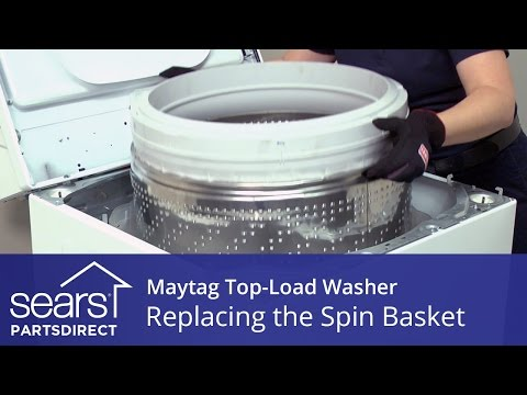 How to Replace the Spin Basket on a Maytag Vertical Modular Washer (VMW)
