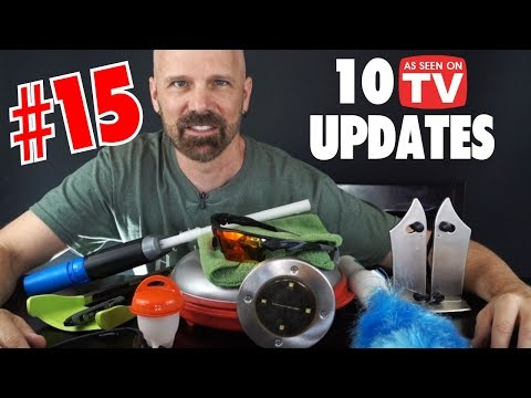 10 As Seen on TV Product Review Updates, Part 15