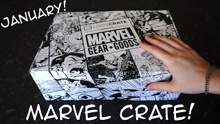 Marvel Gear + Goods Unboxing! - January 2017