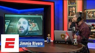 Jimmie Rivera only took a week off after loss to Marlon Moraes | Ariel Helwani's MMA Show | ESPN