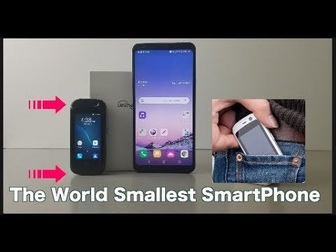 Jelly Pro The World Smallest SmartPhone From Unihertz
