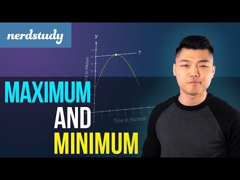 Maximum and Minimum of a Quadratic Function - Nerdstudy