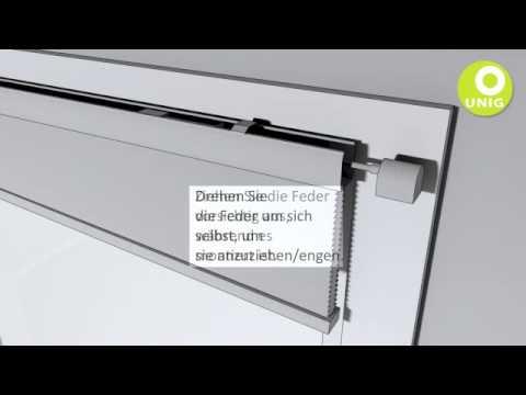 rollup display change feder spannen funnydog tv. Black Bedroom Furniture Sets. Home Design Ideas