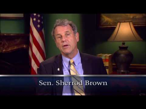 Senator Sherrod Brown Discusses the Legacy of Senator Voinovich