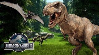 Jurassic World - The Game - LittleLizard Raises Dinosaurs! #1
