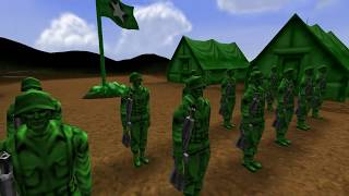 Army Men RTS Mission 1 The Thin Green Line 4K