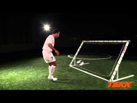 Tekk Trainer Soccer Training  Thigh Control Drills