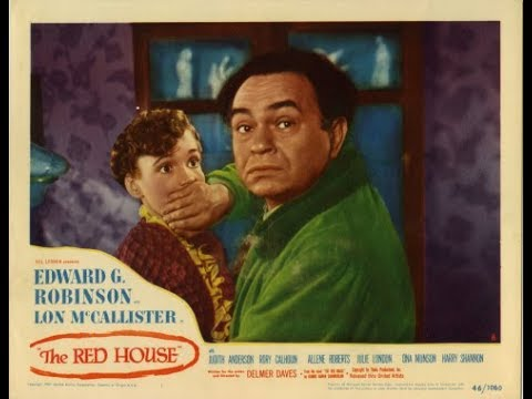 � MYSTERY! Edward G. Robinson 'The Red House'  Classic Movie Black & White