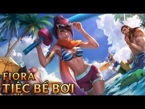 Fiora Tiệc Bể Bơi - Pool Party Fiora - Skins lol