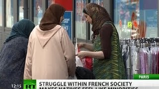 Inter-ethnic tension rises in France as natives fear to become 'white minority'