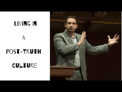 Living In A Post-Truth Culture --  Abdu Murray