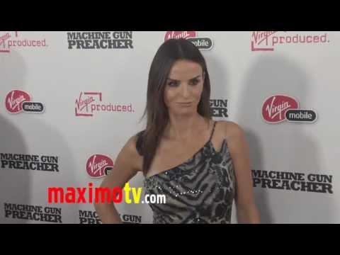 Ana Alexander at Machine Gun Preacher Los Angeles Premiere Arrivals