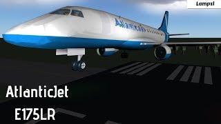 ROBLOX | AtlanticJet E175LR Flight