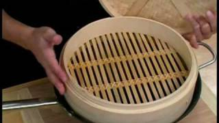 Cooking Tips : How to Use a Bamboo Steamer