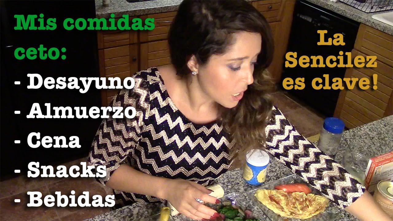ideas para el almuerzo para la dieta cetosis