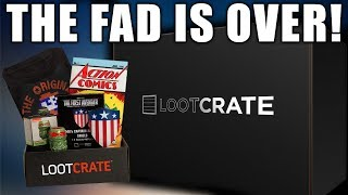Lootcrate Files For Bankruptcy. Color Me Shocked!