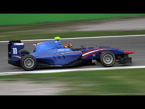Dallara GP3 Formula Cars Amazing V6 Sound - GP3 Series 2014 Monza