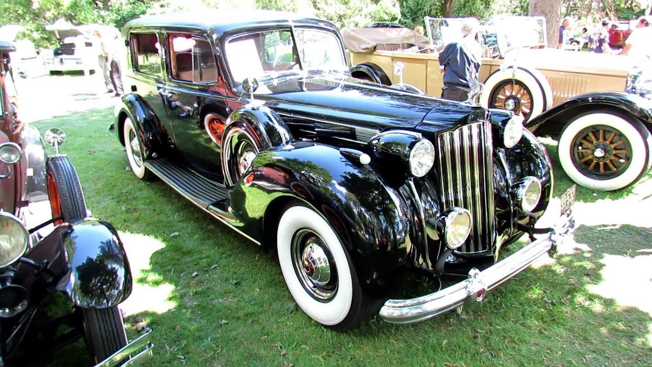 1939 Packard V12 Formal Sedan Exterior and Interior - 2012 ...