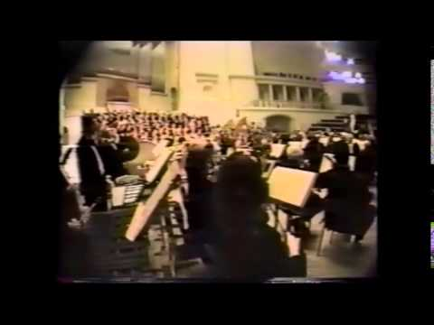 Prokofiev: Alexander Nevsky Cantata, Op. 78 (Movement 6), Dr. Will Kesling, conductor
