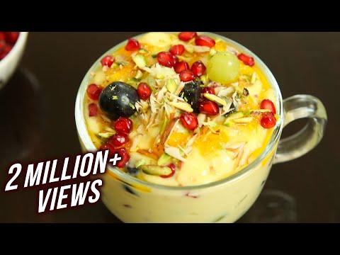fruit-custard-recipe---how-to-make-fruit-custard-at-home---dessert-recipe---fruit-custard---ruchi