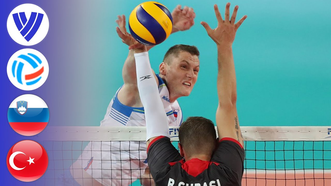 Slovenia vs. Turkey  - Full Match | Men's Volleyball Challenger Cup 2019