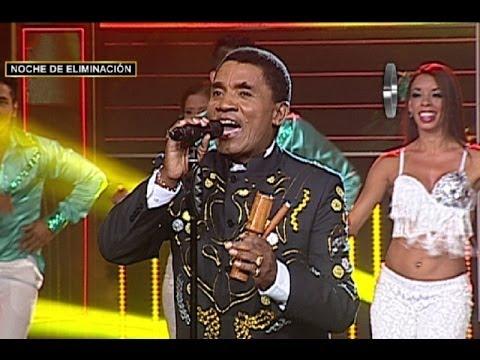 Joe Arroyo puso el sabor a la noche de 'Yo Soy' cantando